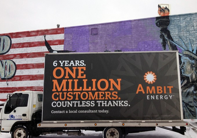 Ambit Energy Mobile Billboard